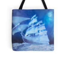 The Flying Dutchman . . . a ghost ship Tote Bag