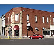 Abilene, Kansas - 2nd and Broadway Photographic Print