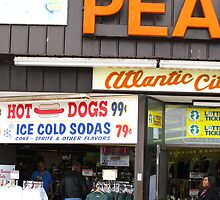 Atlantic City, New Jersey - Boardwalk by Frank Romeo