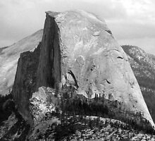 Tribute To John Muir - Half Dome, Yosemite National Park, Mariposa County, CA by Rebel Kreklow