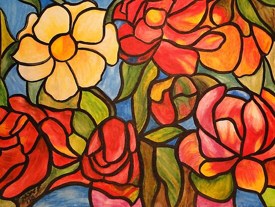 ... In bloom by Marsha Free