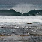 Surf eruption, Hanson Bay, S.A. by elphonline