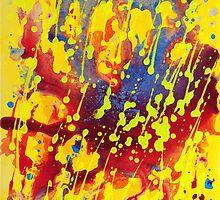 New! Yellow! Splatters! by Jim DuBois