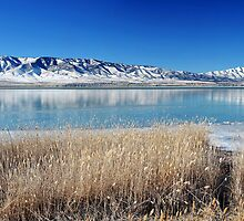 Utah Lake - First Ice by Ryan Houston