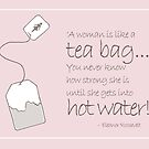 Hot Water and a Tea Bag by Jo Holden