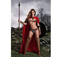 I Am Spartan Photographic Print