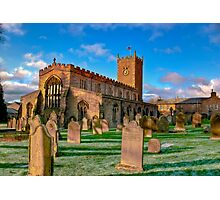 St Oswald's Church - Asgrigg  (HDR) Photographic Print