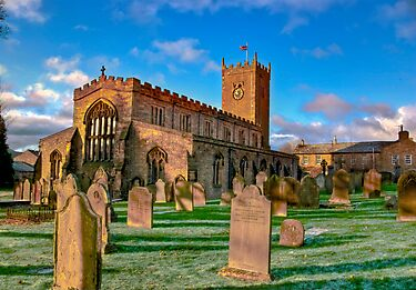 St Oswald&#x27;s Church - Asgrigg  (HDR) by Trevor Kersley
