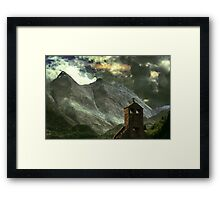 The Chapel of Lost Mysteries Framed Print