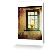 The Window (St Fagans Museum) Greeting Card
