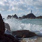 La Corbière Lighthouse, St Ouens, Jersey, Channel Islands, United Kingdom by Brian Sharland