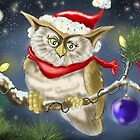 Christmas Owl by Hank Nunes