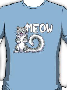 Snow leopard meow T-Shirt