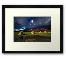 Dark over Light Framed Print