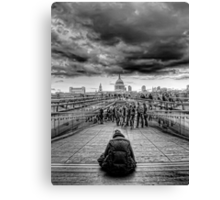 Brother Can You Spare a Dime Canvas Print