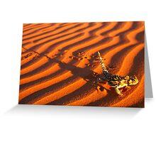 Thorny Devil, Simpson Desert Greeting Card