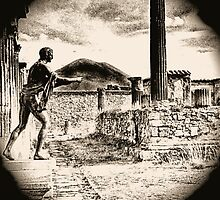 Magic Lantern Pompeii by Nigel Fletcher-Jones