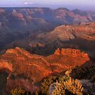 Grand Canyon At Twilight by Stephen Vecchiotti