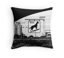 driving out of Freo... Throw Pillow