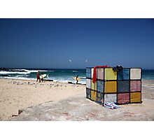 Surfing Fun at Maroubra Beach Photographic Print