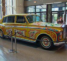 BEATLES Rolls Royce Car : ENGLAND by AnnDixon