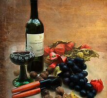 Wine and grapes by steppeland