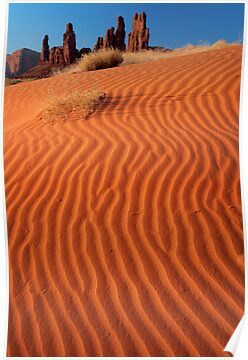 Yei-bi-Chei Sand Ripples by Inge Johnsson