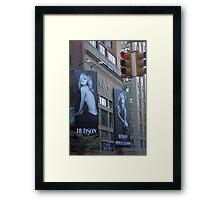 Hudson Street Framed Print