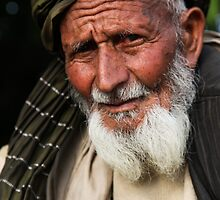 A village elder by David R. Anderson