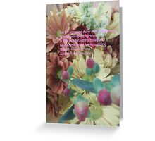 We Are God's Bouquet Greeting Card