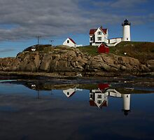 Nubble Light by auburnxc