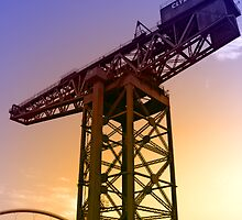 Finnieston Crane by simpsonvisuals