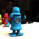 Kitchen Toy Robot Helpers by mdkgraphics