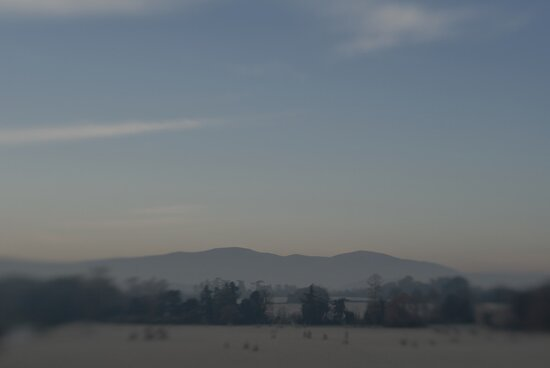 Malvern Hills from Croome Park by Matthew Walters