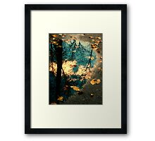 Reflections of Blackbird Island Framed Print