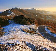 Malvern Hills: Winter Walk by Angie Latham