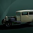 1929 Ford Sedan Hot Rod by TeeMack