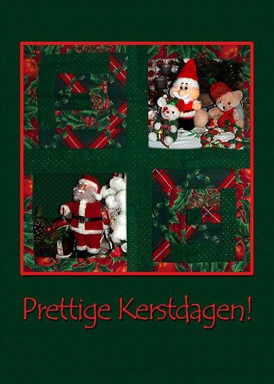 Kerst Patchwork - Prettige Kerstdagen by steppeland-2
