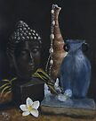 Buddha Still Life by Michael Beckett