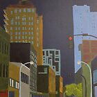 J Street at Night by Jeffrey DeVore