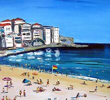 Summer Bondi  by gillsart