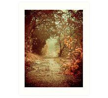 Path of Memories Art Print