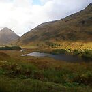 beautiful Glen Etive, Highlands by BronReid