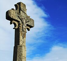 Old Rugged Cross - Carcassonne by Jamie Alexander