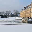 Chteau of Fontainebleau under the Snow by Gabriele Winkler