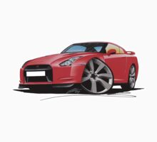Nissan GT-R Red by Richard Yeomans