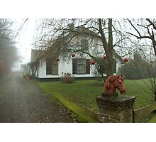 Christmas in the country Photographic Print