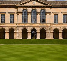 Worcester College Quad by Skye Hohmann