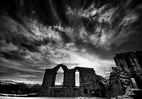 Winter Priory by Rory Garforth