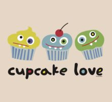 Cupcake Love - beige by Andi Bird